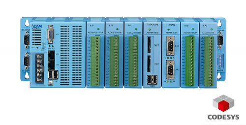 A complete CODESYS Experience with Advantech ADAM-5560CDS IPC based I/O controller, remote I/O and HMI