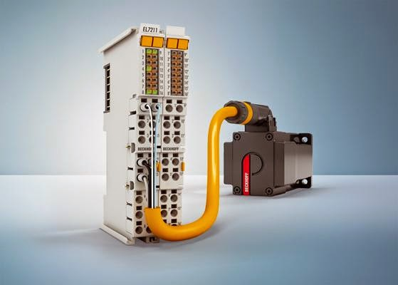 Beckhoff's EtherCAT I/O system: higher performance range with compact servomotor terminals