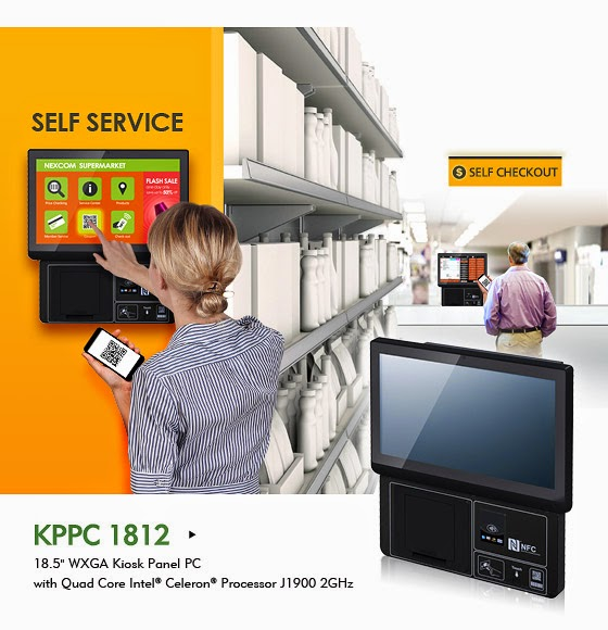 NEXCOM's KPPC 1812 Facilitates the Rise of Smart Kiosks, Targeting IoT Applications