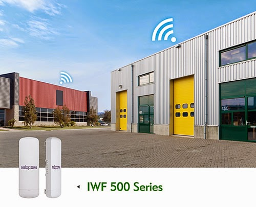 NEXCOM's Cost-Effective Industrial Wi-Fi IWF 500 Supports P2P/P2mP for Semi-outdoor Applications