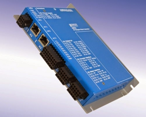 CANNON-Automata presents the Stepper Motor Controller SMC3 with Real-time Ethernet Interface