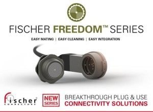 Breakthrough technology makes connectivity EASY – easy mating, easy cleaning, easy integration with brand-new Fischer FreedomTM Series
