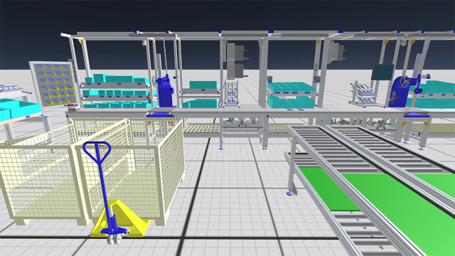 Planning Assembly Systems with Virtual Reality