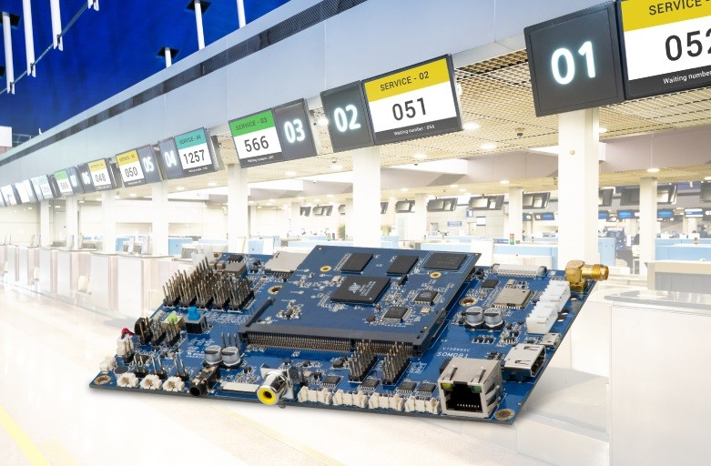 VIA Launches VIA SOM-6X80 Module for Automated Information Display and Ticketing Systems