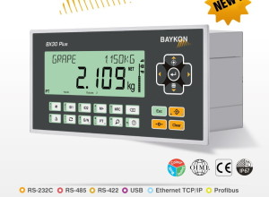 BAYKON'S New Advanced Weighing Indicator for Process Control & Force Measurement