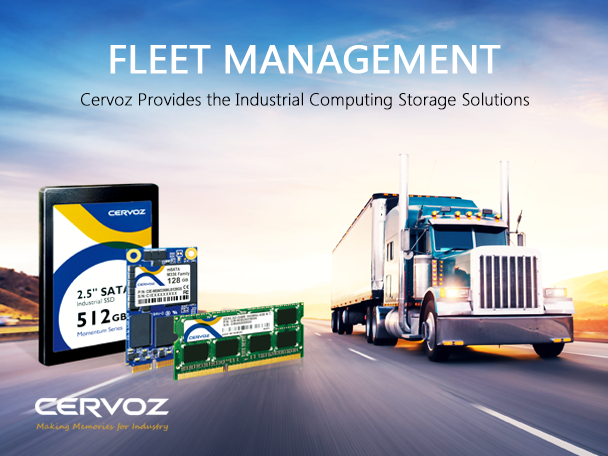 Cervoz Provides the Industrial Computing Storage Solutions for Fleet Management