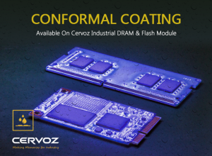 Cervoz Conformal Coating - Available On Cervoz Industrial DRAM & Flash Module