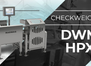 Hermetic DWM HPX Checkweigher from RADWAG