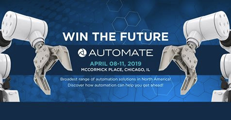 Automate 2019 Show and Conference Comes to Chicago April 8–11