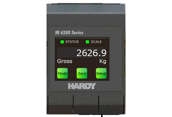 New Hardy HI 6200 Single Channel Weight Processor Designed for OEM Applications