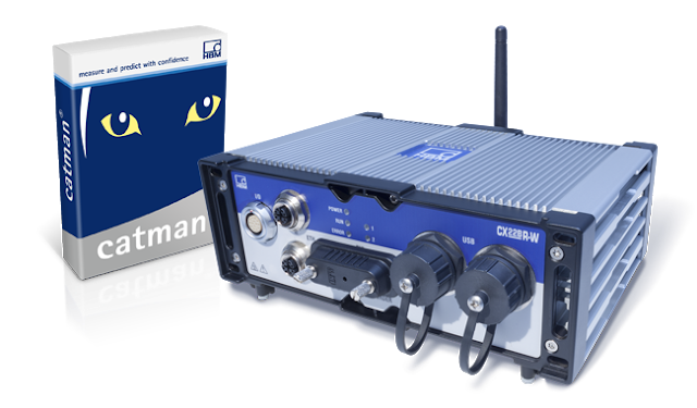 New Rugged CX22B-R Data Recorder Provides Fast Results in Interactive Vehicle Testing