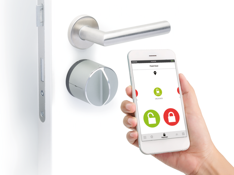 Danalock Smart Lock Featured in Z-Wave Smart Home Demo House at CES 2019
