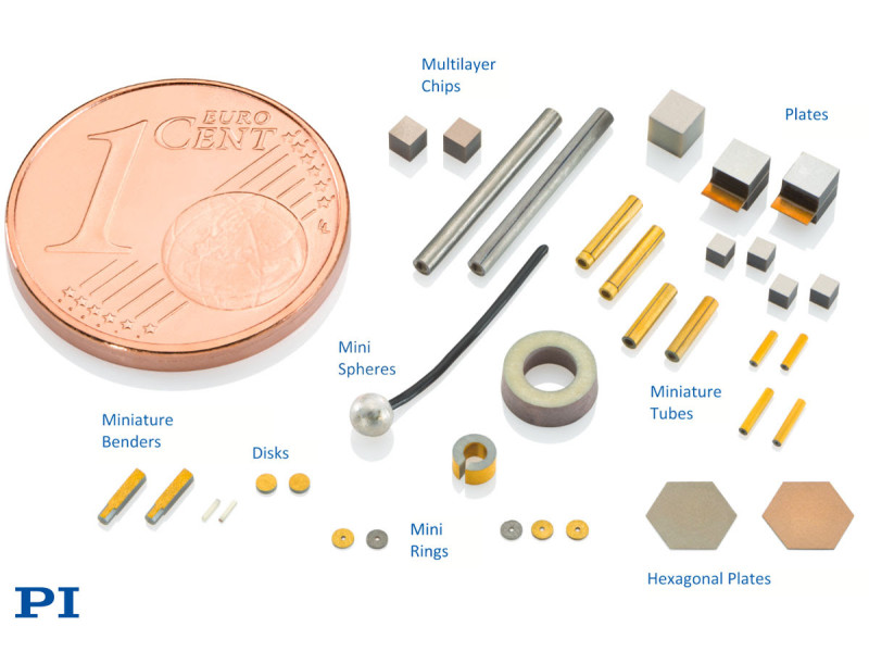 Physik Instrumente's Miniature Piezo Components for Medical Device Manufacturing