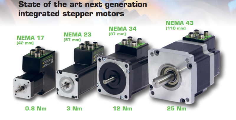State of the art next generation Integrated Stepper Motors from JVL Industri Elektronik A/S