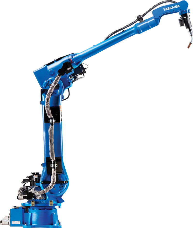 Yaskawa Motoman AR3120 Arc Welding Robot Offers Longest Reach for Long or Wide Weldments