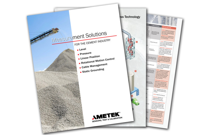 Measurement Knowledge Reduces Downtime from Quarry to Cement Delivery