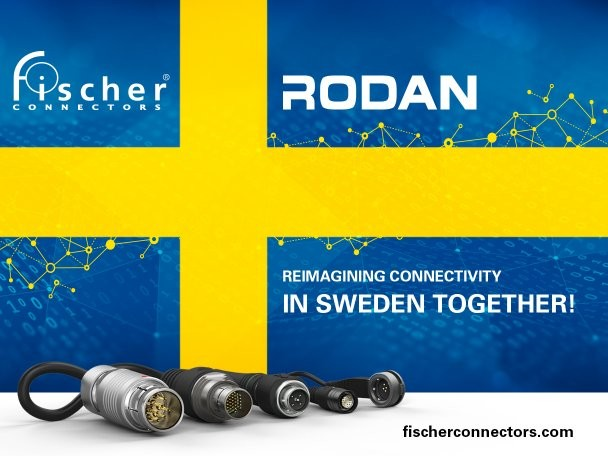 Fischer Connectors is Serving customers in Sweden with RODAN Technologies