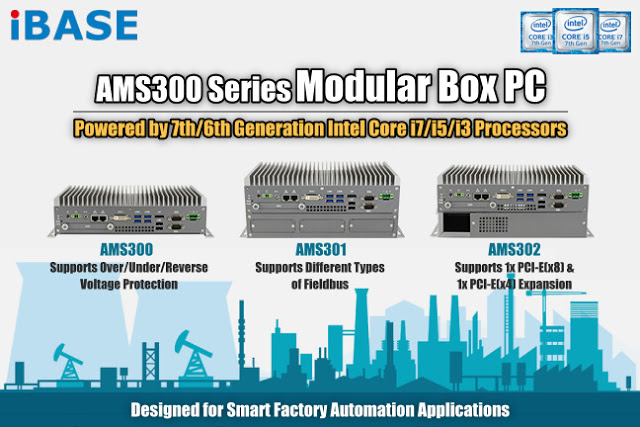 iBASE's 7th/6th Generation Intel Core Expandable Modular Fanless Box PC
