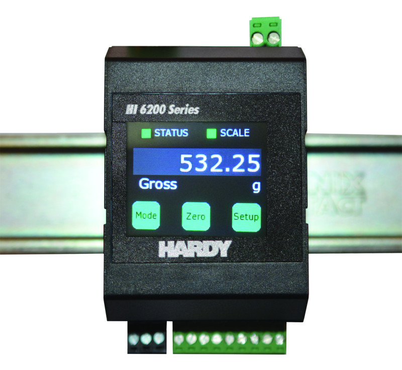 New Hardy HI 6200 Analog Single Channel Weight Transmitter
