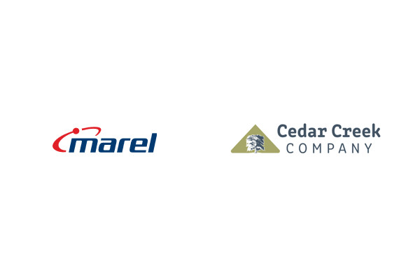 Marel agrees to acquire Cedar Creek Company