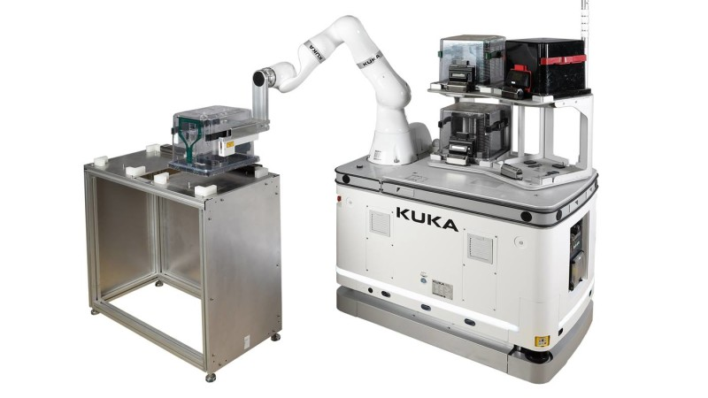 KUKA develops Mobile Robot for semiconductor production