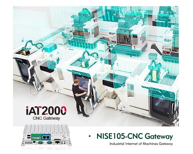 Open the Door to a Better IoT Connectivity of Machines: NexAIoT NISE105-CNC Gateway