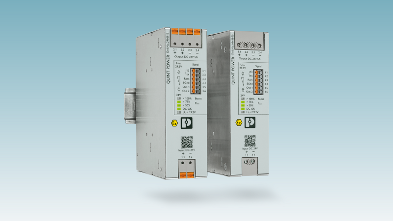 Powerful DC/DC converters from Phoenix Contact
