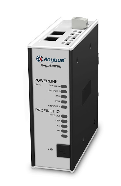 Anybus X-gateways from HMS offer connectivity to Ethernet POWERLINK