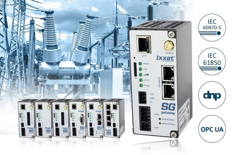 Ixxat Smart Grid Gateways – advanced connectivity with maximum security