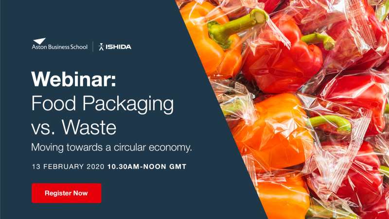 Webinar - Food Packaging vs. Waste