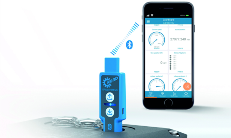 New Bluetooth Commissioning and Service Solution Available from NORD