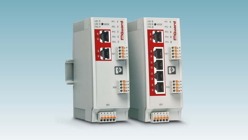Phoenix Contact Security Routers: protect industrial networks easily