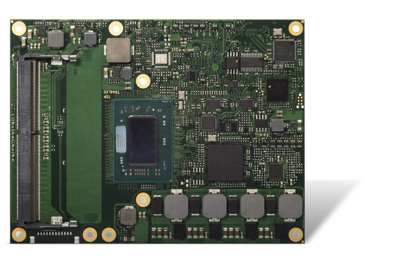 AMD Ryzen based congatec COM Express module for the industrial temperature