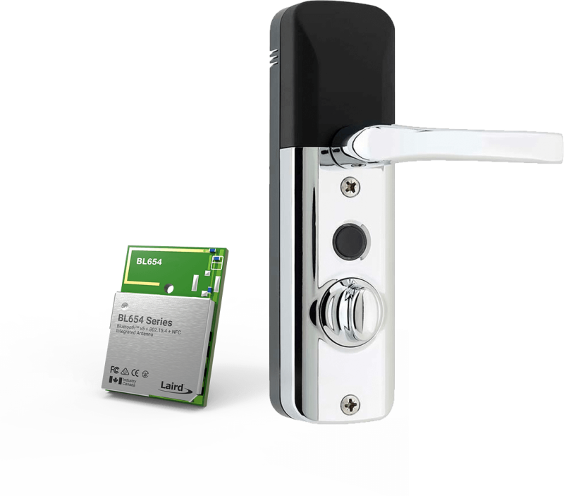 Mighton's Avia Smartlock Provides Unparalleled Security with Laird Connectivity's Family of Bluetooth 5 Modules