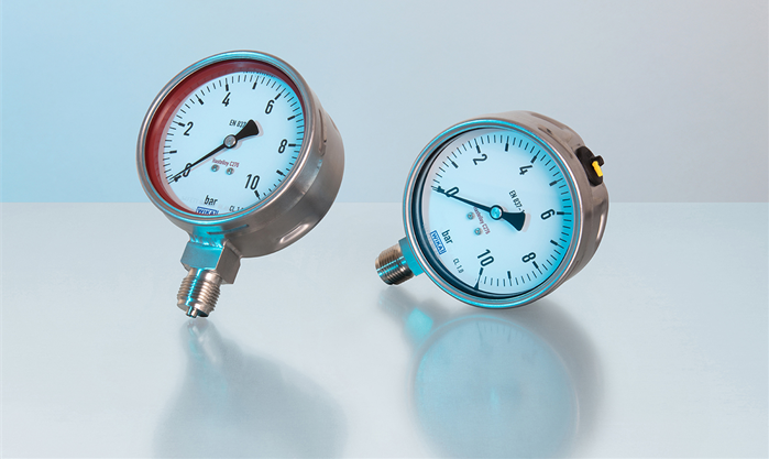 WIKA Hastelloy Pressure Gauge for highly aggressive media