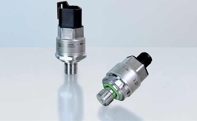 WIKA's New OEM Pressure Sensor for mobile working machines