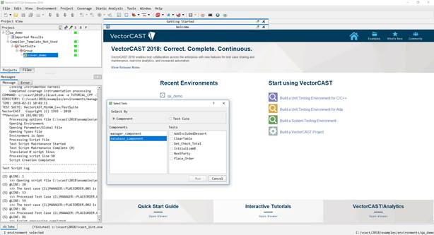 Vector Software Announces New Release of the VectorCAST 2018 Test Automation Platform