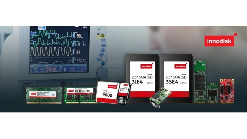Innodisk Supports Healthcare Industry with Capable Medical-grade Solutions