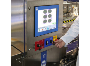 Weighing products with Loma's X5 X-weigh feature
