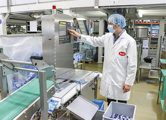 No half measures: Minebea Intec offers optimum efficiency for the confectionery industry