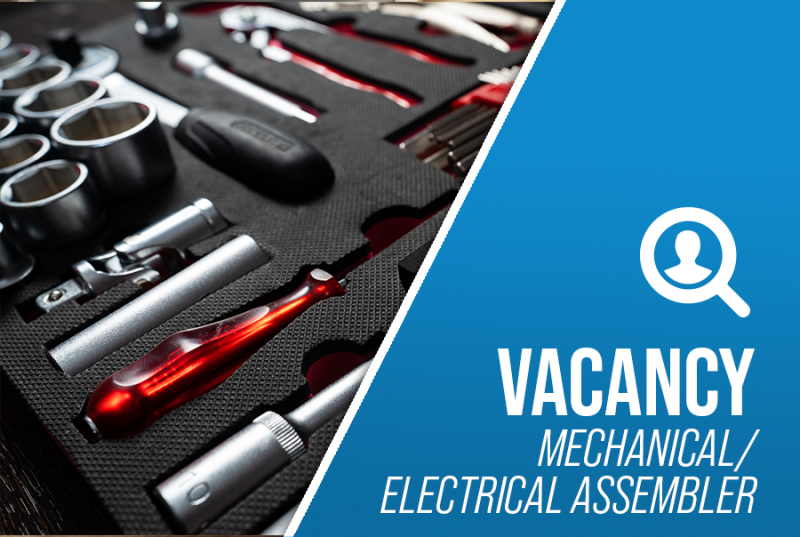 Job Offer By Stevens Traceability Systems - Mechanical / Electrical Assembler