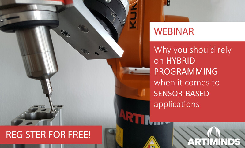 ArtiMinds Free Webinar: More than Pick & Place - Deployment of Sensor-Based Robot Applications