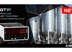 Introducing Dini Argeo newest panel solution: the DGT1P Weight Indicator