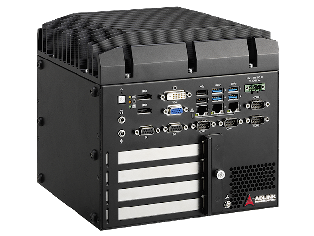 ADLINK Introduces MVP-6010/6020 Series of Expandable Fanless Embedded Computers with Four Expansion Slots