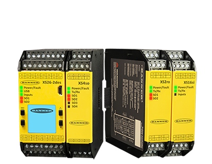 Banner Engineering Safety Controllers add New Features and the PROFINET Industrial Protocol