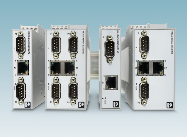 New Serial Device Servers and Gateways from Phoenix Contact