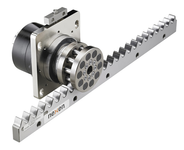 NEXEN launched a New Roller Pinion System in corrosion-resistant stainless steel