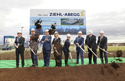 Ziehl-Abegg invests 28 million euros in the Hohenlohe Business Park - Significant increase in productivity
