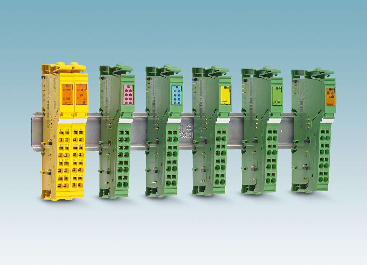 New Inline ECO terminals from Phoenix Contact