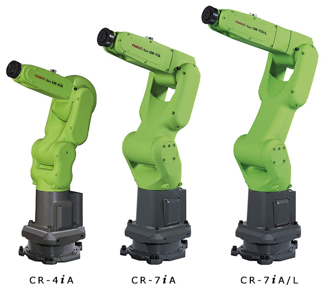 New Small Collabrative Robots from Fanuc